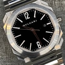 Bulgari Octo Steel 41mm Black Arabic numerals United States of America, New York, new york