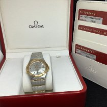 Omega Constellation Ladies Gold/Steel 35mm Silver United States of America, New Jersey, Fords