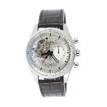 Zenith Steel 42mm Automatic 03.2080.4021/01.c494 pre-owned