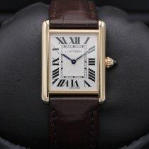 Cartier Tank Louis Cartier Rose gold 26mm White
