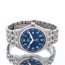 IWC Pilot Mark Steel 40mm Blue Arabic numerals United Kingdom, Essex
