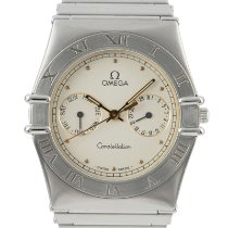 Omega Constellation Day-Date Staal 32.5mm