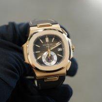 Patek Philippe Pозовое золото 40.5mm Автоподзавод 5980R-001 подержанные