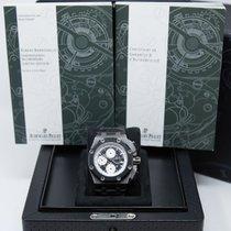 Audemars Piguet Royal Oak Offshore Chronograph 26078IO.OO.D001VS.01 Zeer goed Titanium 44mm Automatisch