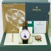 Rolex Cellini Moonphase 50535 Zeer goed Roségoud 39mm Automatisch