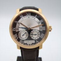 Pierre Kunz new Automatic Display back Tempered blue hands 41mm Red gold Sapphire crystal