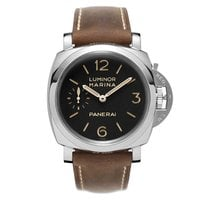 Panerai Luminor Marina 1950 3 Days Steel 47mm Black Arabic numerals United States of America, New York, New York