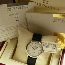 Zenith Elite Ultra Thin Platin 35mm Weiß Römisch Deutschland, MUENCHEN