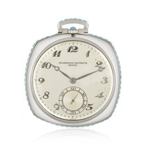 Vacheron Constantin Watch pre-owned 1920 White gold 43mm Arabic numerals Manual winding Watch with original box
