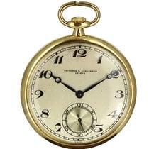 Vacheron Constantin Reloj usados Oro amarillo 45mm Arábigos Cuerda manual Solo el reloj