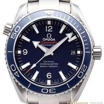 Omega Titan Automatik Schwarz Keine Ziffern 45,5mm neu Seamaster Planet Ocean