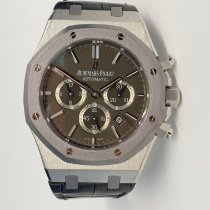 Audemars Piguet Royal Oak Chronograph Сталь 41mm Черный Без цифр