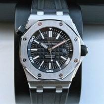 Audemars Piguet Royal Oak Offshore Diver Steel 42mm Black No numerals United States of America, New York, New York