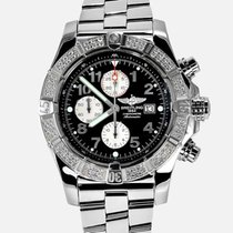 Breitling Super Avenger new Automatic Chronograph Watch with original box and original papers A1337053/B973