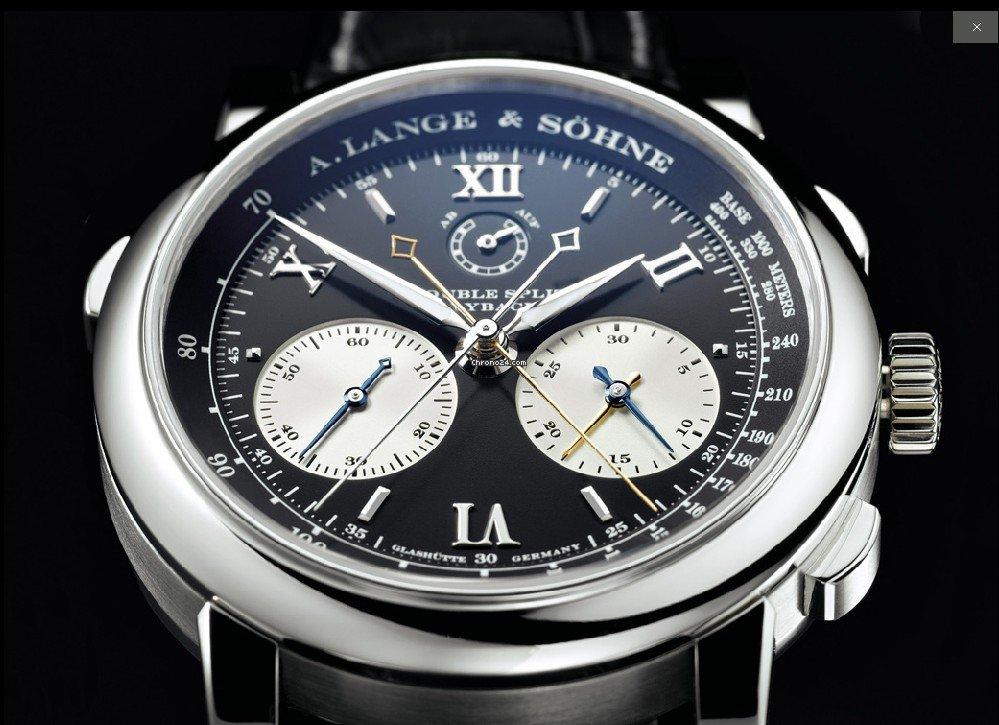 A. Lange & Söhne Double Split 404.035 new