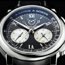 A. Lange & Söhne Double Split 404.035 Unworn Platinum 43mm Manual winding