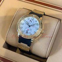 Ulysse Nardin Maxi Marine Diver Yellow gold 40mm White United States of America, New York, New York