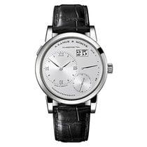 A. Lange & Söhne Platinum Manual winding Silver Roman numerals 38.5mm new Lange 1