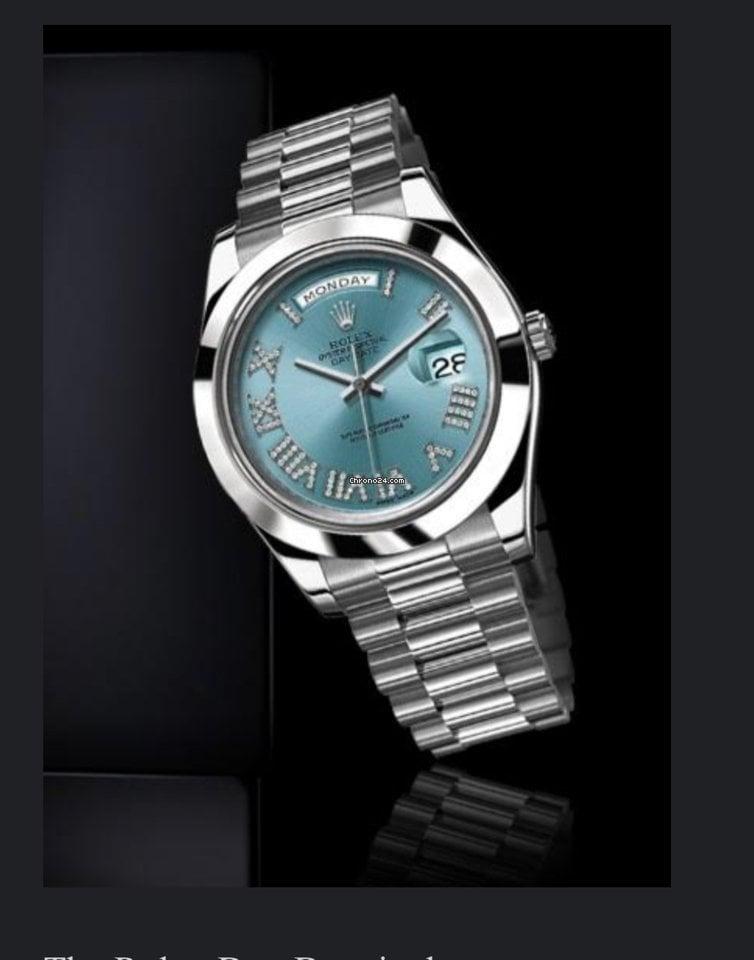 Rolex (ロレックス) デイデイト II 218206 ibldrp 新品