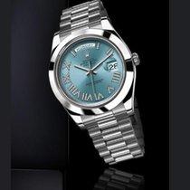 Rolex (ロレックス) デイデイト II 新品 自動巻き 正規のボックスと正規の書類付属の時計 218206 ibldrp