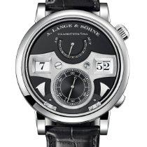 A. Lange & Söhne Zeitwerk White gold 44.2mm Black Arabic numerals United States of America, New York, New York