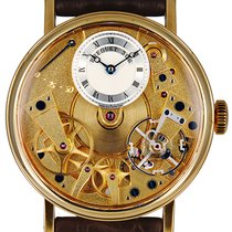 Breguet Yellow gold Manual winding Roman numerals 37mm pre-owned Tradition