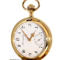 IWC Uhr gebraucht 1892 Gelbgold 53mm Handaufzug Nur Uhr