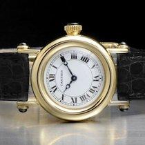 Cartier Diabolo Желтое золото 26mm Белый Римские