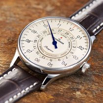 Meistersinger Pangaea Day Date PDD903 Meistersinger Pangaea DayDate 40mm Avorio Pelle Automatico 2020 new