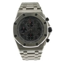 Audemars Piguet Titanium Automatic Grey Arabic numerals 42mm pre-owned Royal Oak Offshore Chronograph