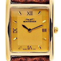 Sandoz Yellow gold 25mm Quartz 2161643 pre-owned