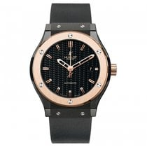 Hublot Classic Fusion 45, 42, 38, 33 mm Ceramic 45mm Black United States of America, New York, New York