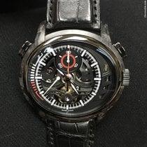 Audemars Piguet Millenary Chronograph Carbon 46.65mm Schwarz Keine Ziffern