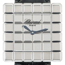 Chopard Ice Cube Or blanc 25mm Argent