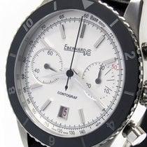 Eberhard & Co. Contograf Steel 42mm White No numerals