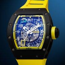 Richard Mille Carbon Automatic Transparent Arabic numerals 50mm new RM 030