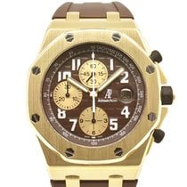 Audemars Piguet 26007BA.OO.D022CR.01 Yellow gold Royal Oak Offshore 42mm new United States of America, New York, New York