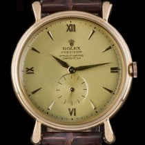 Rolex Oyster Precision Rose gold 37mm Gold