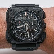 Bell & Ross BR-X1 Carbon 45mm Negru Fara cifre