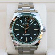 Rolex 116400V Staal Milgauss 40mm nieuw