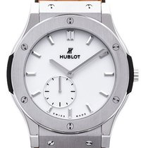 Hublot Classic Fusion Ultra-Thin Titanium 45mm Silver No numerals