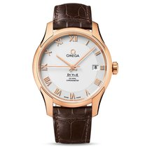 Omega De Ville Co-Axial Rose gold 41mm Silver United Kingdom, London