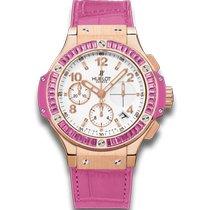 Hublot Big Bang Tutti Frutti Oro rosa 41mm Blanco