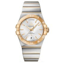 Omega Constellation Day-Date Gold/Steel 38mm Silver United Kingdom, London
