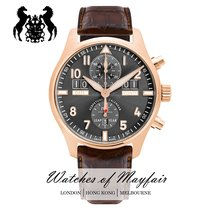 IWC Pilot Spitfire Perpetual Calendar Digital Date-Month new Automatic Watch with original box and original papers IW379105