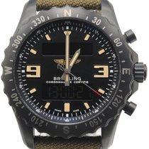 Breitling Chronospace Military Сталь 46mm Черный