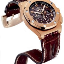 Audemars Piguet Royal Oak Offshore Rose gold 48mm Brown Arabic numerals United States of America, New York, New York