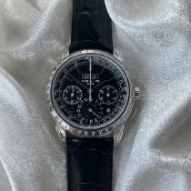 Patek Philippe Perpetual Calendar Chronograph Platinum 40mm Black Arabic numerals