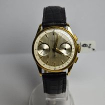 Universal Genève Yellow gold 35mm Manual winding cal.185 pre-owned