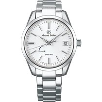 Seiko Grand Seiko Steel 48.8mm White No numerals